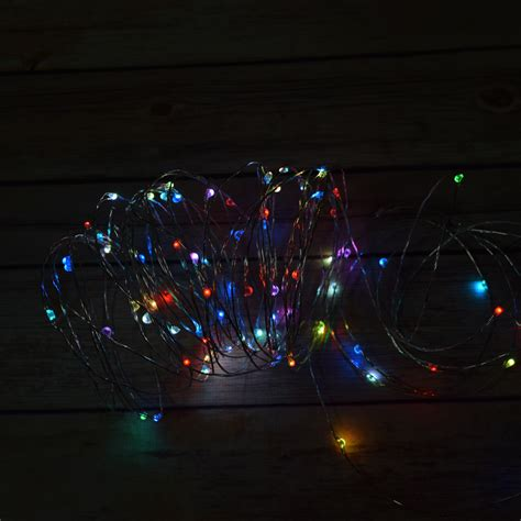 100 rgb multi color changing led wire waterproof