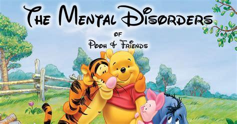 winnie  pooh characters  mental disorders