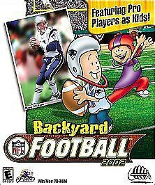 Backyard Football Pc by Buy Backyard Football 2002 Pc 2002 Ebay