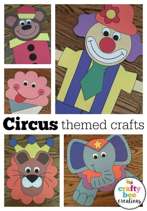 best 25 circus theme crafts ideas only on 961 | a7222a0f4ce2f3f16efb20936137996a circus art preschool circus activities