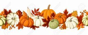 free clip art fall leaves pumpkins - Clipground