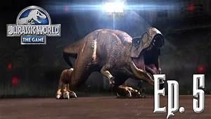 Batallas Tiranosaurus      Jurassic World  El Juego  5