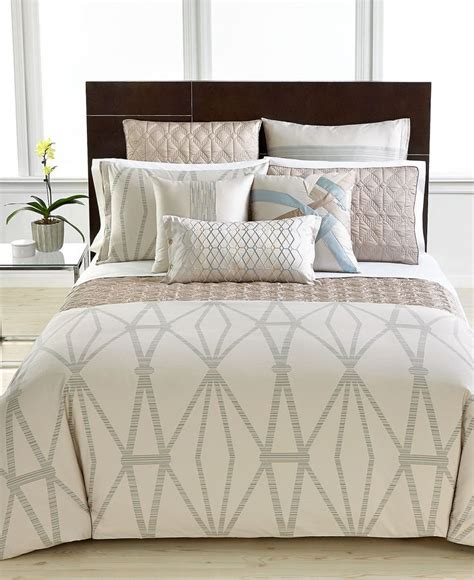 Macys Hotel Collection Bedding by Closeout Hotel Collection Modern Pendant Bedding Collection