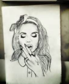 Pretty Tumblr Girl Drawings