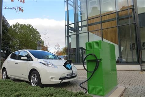 First Electric Vehicle To Grid Charging System At Aston