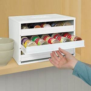 youcopia chef39s edition 30 bottle spicestack spice rack With kitchen colors with white cabinets with custom hydro flask stickers