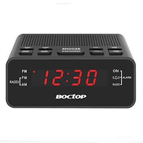Bedroom Radio Alarm Clocks by Alarm Clock Radio Digital Alarm Clock Am Fm Radio With