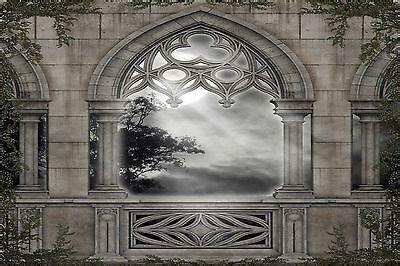 gothic scenery wall mural photo wallpaper giant decor