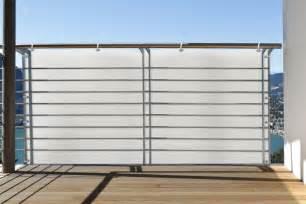 sichtschutz balkon stoff balkonbespannung sichtschutz 3m oder 5m zwei motive balkonstoff windschutz ebay