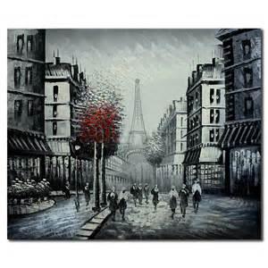 Building Landscape Oil Paintings