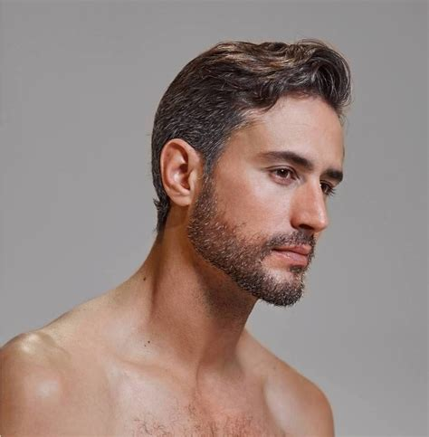 Mens Hair Dye by True Sons Hair Dye For Test Drive Combat Going Grey
