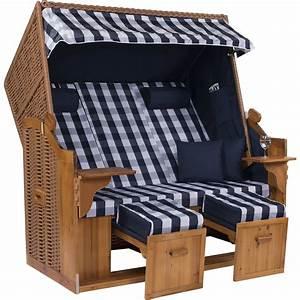 Strandkorb Xxl Volllieger : strandkorb royal xxl 150 cm breit strandk rbe ostsee ~ Watch28wear.com Haus und Dekorationen