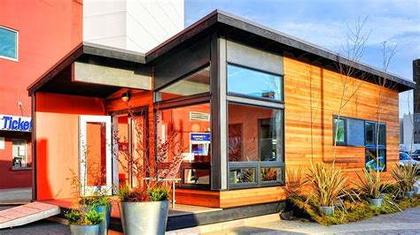Amazing Modern Prefab Cottage Small Modern Living By Small