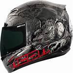 Icon Helmet Motorcycle Thriller Airmada Helmets Gear