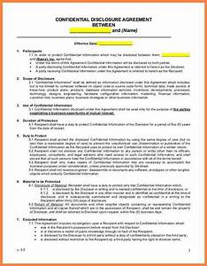 Small Business Partnership Agreement Template 3 Non Disclosure Agreement For Consultants Purchase