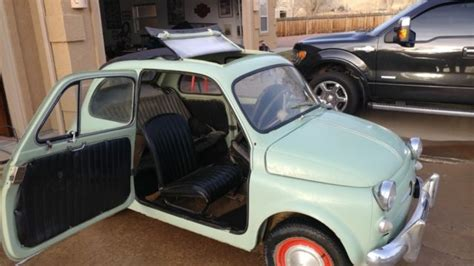 Fiat Parts Usa by 1959 Fiat 500 Nuova Classic 1959 Fiat 500 For Sale