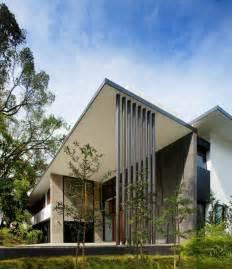screen house  kld architects exotic modern mansion  singapore homesthetics inspiring