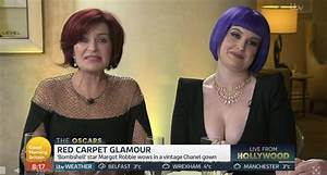 Kelly Osbourne shocks GMB viewers with plunging dress for ...