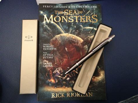 The Sea Of Monsters Early Copy Parker Pen By Visr On