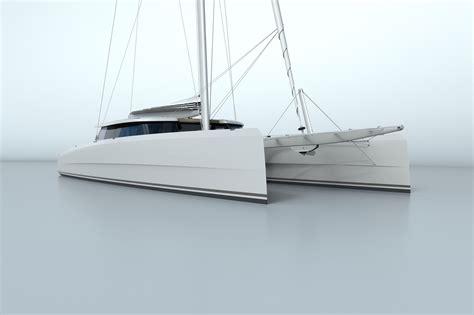 Catamaran Design News by Vantage Catamaran Ready For Build Nigel Irens Design