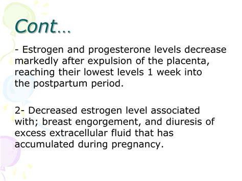 Ppt Postpartum Physiology Powerpoint Presentation Id