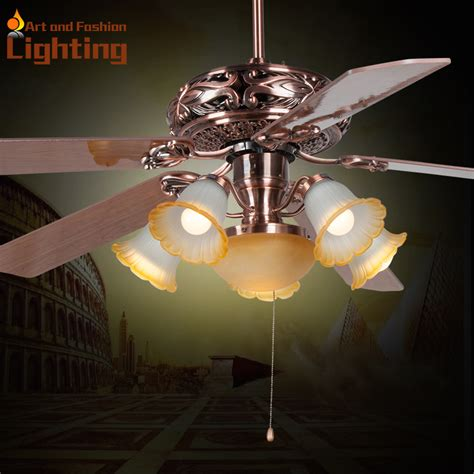Quietest Ceiling Fans 2015 by Large 60 Inches Ceiling Fan Light Popular European Style