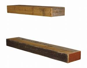 Groopdealz barnwood floating shelves set of 2 for Barnwood shelves for sale