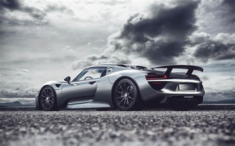 Porsche-918 Full Hd Wallpaper And Background Image