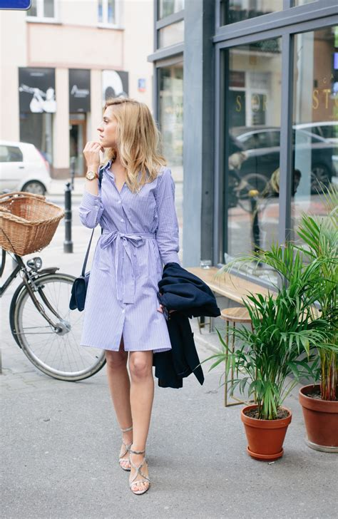 25 Simple Ways To Wear A Shirt Dress - Outfits u0026 Ideas - Just The Design