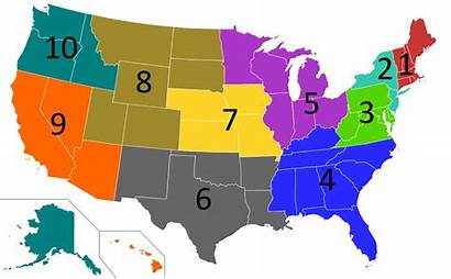 Regions States United Epa Svg Region Water