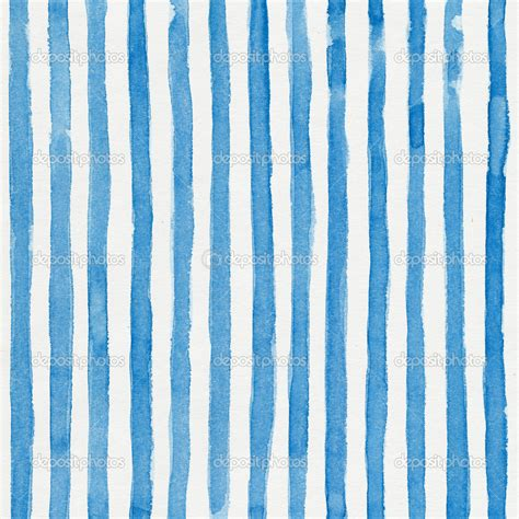 Blue Striped Background Watercolor Striped Background With Vertical Blue Stripes