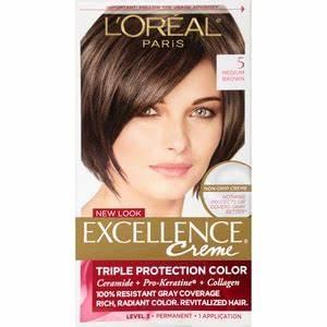 Directions Hair Colour Chart L 39 Oreal Excellence Creme Medium Brown 5 Cvs Com
