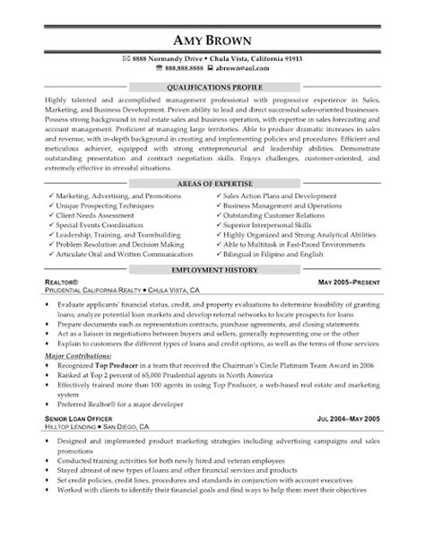 Free Sle Real Estate Resume by Resume Sles Real Estate Consultant Resume
