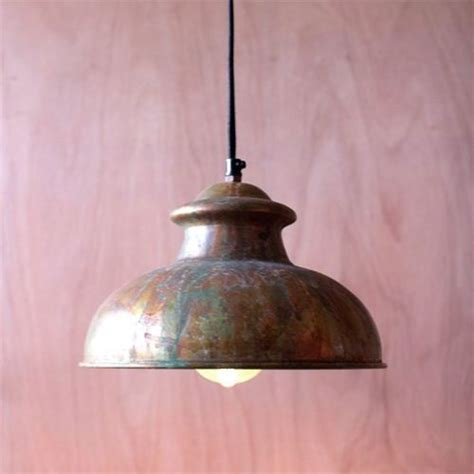rustic kitchen lighting fixtures kalalou antique rustic one light dome pendant viii 5005
