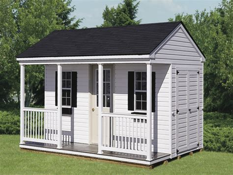 Storage sheds and garages, storage sheds with porches