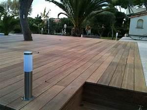 Eclairage de terrasse marseille martigues aix en provence for Eclairage terrasse en bois