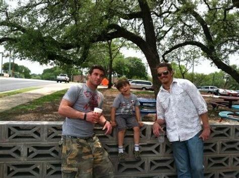 Malcolm Freberg, Eddie Fox with Reynold's son Jacob. 2 and ...
