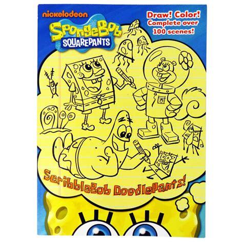 nickelodeon spongebob deck drawdown nickelodeon spongebob squarepants scribblebob doodlepants
