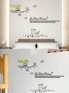 le petit prince wall sticker le petit prince baby shower and nurs
