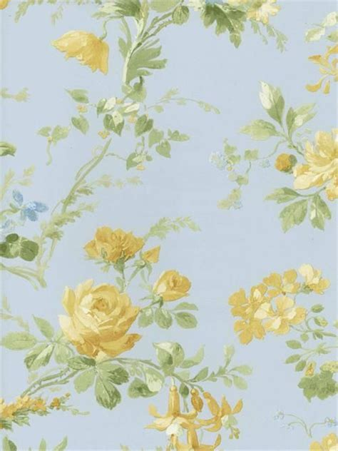 cottage style wallpaper cottage wallpaper in every room blue white
