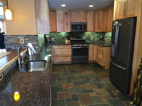 slate tile for kitchen floor best 15 kitchen flooring ideas tile designs for modern 7975
