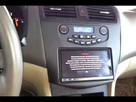Honda Accord Double Din Metra Youtube