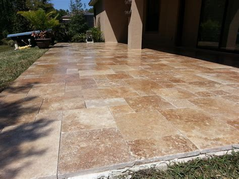 noce paver pool copings french pattern