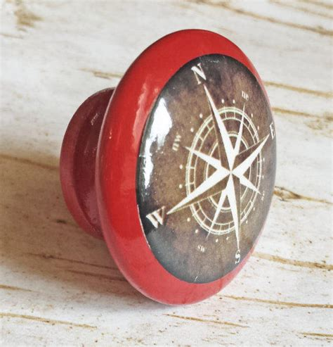 Nautical Cabinet Pulls And Knobs by Nautical Compass Knob Drawer Pulls From