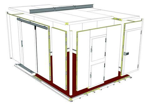 panneaux sandwich chambre froide chambres froides et chambres de congélation godfrin