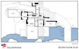 architect floor plans fallingwater drawings and plans fallingwater