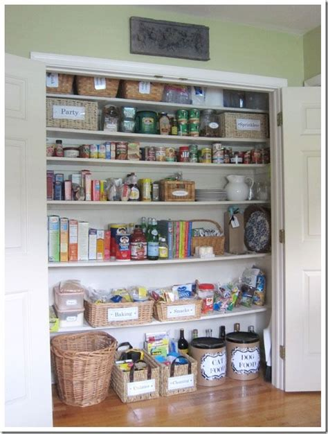 organizing kitchen pantry ideas how i transformed a coat closet into a pantry pantry