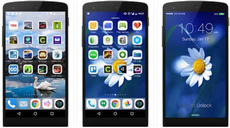 best iphone launcher best iphone launcher apps for android to ios like