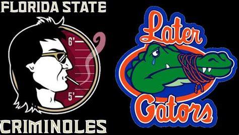 florida gators parody logo  fsu parody logo parody tease