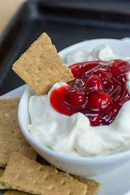 Easy Cherry Cheesecake Dip Recipe